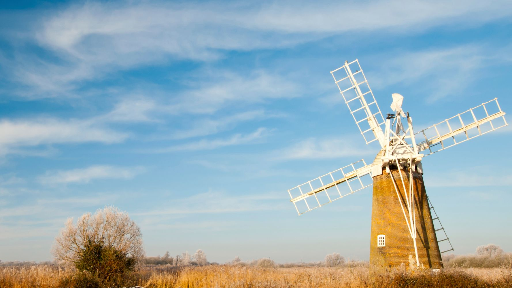 A Norfolk Broads Windmill