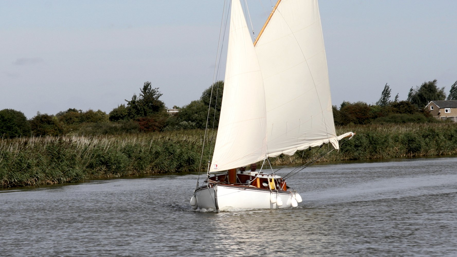 A Classic Norfolk Broads Sailing Yacht